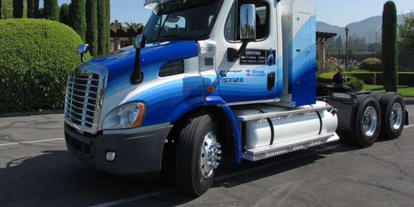 Test Drive: Natural Gas Freightliner Cascadia 113