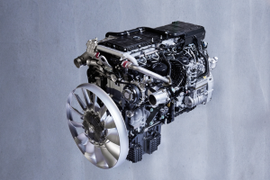 Mercedes-Benz Updated 13-liter and the Next Detroit Diesel Generation