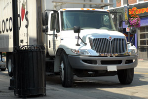 Fuel efficiency hasn't been a high priority for tire makers' medium-duty and regional service offerings - until now. (Photo by Jim Park)