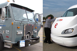 We Try Out Latest Electric, Hybrid Models at Hybrid Truck Users Forum