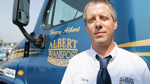 Henry Albert, veteran owner-operator from Mooresville, N.C., is exceptionally good at squeezing...