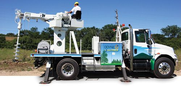 Many of Odyne's hybrid systems go into utility service trucks, where they work cleanly and...