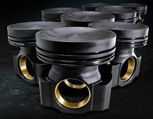 The new piston design is one of the many scheduled releases of the IPDSteel piston line for Caterpillar as well as for other additional engine lines.