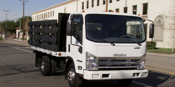 Isuzu:Class 3 NPR Gas (shown) and Class 4 NPR-HD Gas, with a GM-built 6-liter gasoline V-8 and...