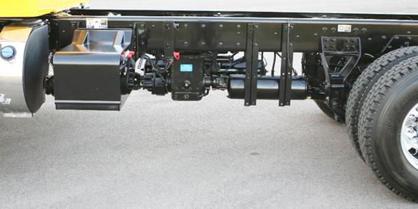 Kenworth Transfer Case PTO Option on All-Wheel Drive Medium-Duty Trucks