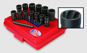 Ken-Tool's Twist Sockets are available individually or in sets.