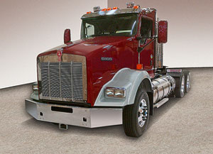 Kenworth T800 with LNG Dual Tanks
