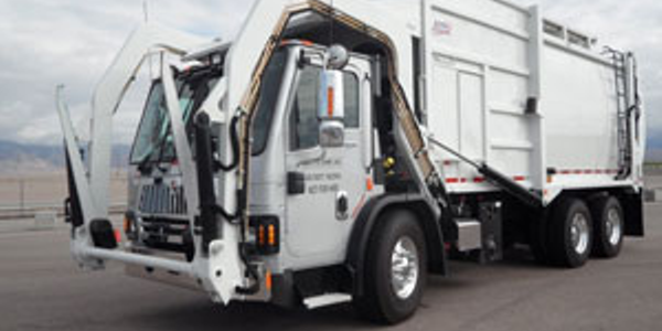 International LoadStar with EZ Pack top-loader body is among the integrated trash-hauling...