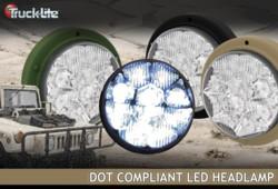 Truck-Lite's LED headlamp