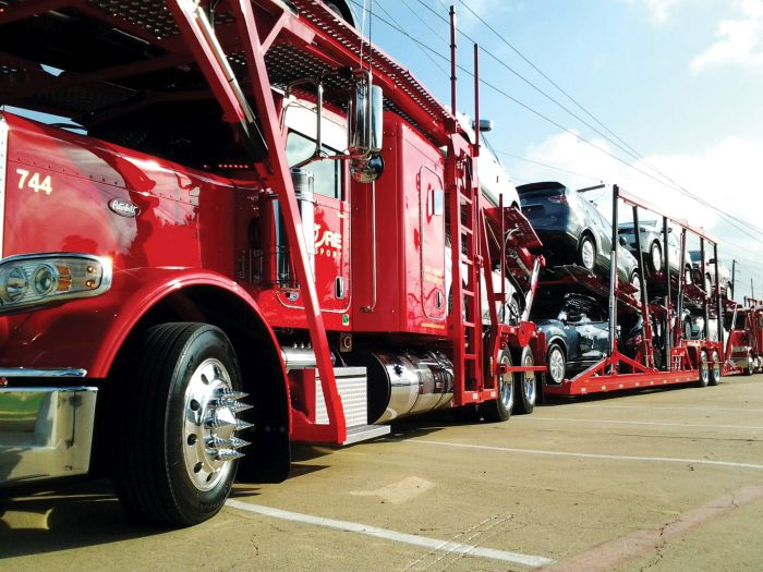 Weigh Station Bypass Saves Time for Car Hauler