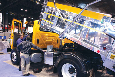 Trade shows like The Work Truck Show provide the opportunity to research new bodies, equipment and components from a number of manufacturers in a single location.