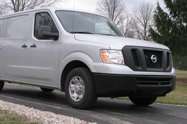 Test Driving the Nissan NV Light-Duty Commercial Van