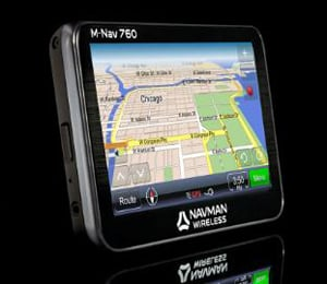 The new M-Nav 760 is equipped with ruggedized housing and touch screen.