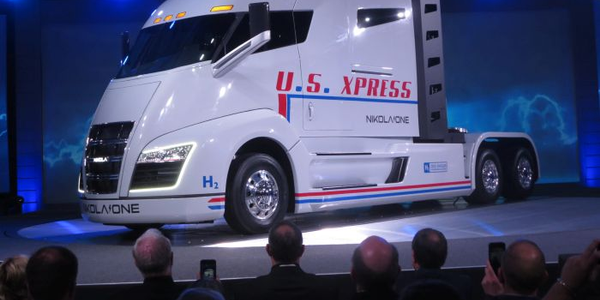 The Nikola One sleeper-cab prototype unveiled in early December in Salt Lake City looks like no...