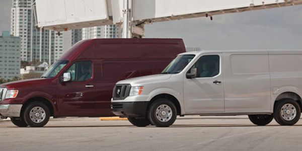 Nissan Van (NV) comes in three weight-based models with a choice of two roof heights, two trim...