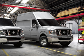 New Nissan Commercial Vans Claim High Volume, Versatility and Driver Comfort
