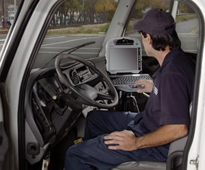 The Panasonic Toughbook H1 Field is built to withstand demanding working conditions.