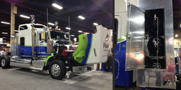Peake 'Diesel Natural Gas' Offers Dual-Fuel Conversion for New Cummins ISX Engines
