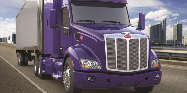 Paccar's new, fully integrated powertrain featuring the all-new Paccar Automated Transmission...