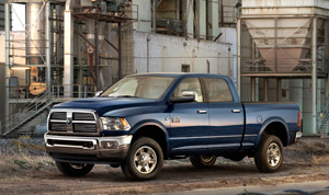 The all-American vehicle gets engine advances as the Great Recession begins to end. Pictured is the new Dodge Ram 2500.
