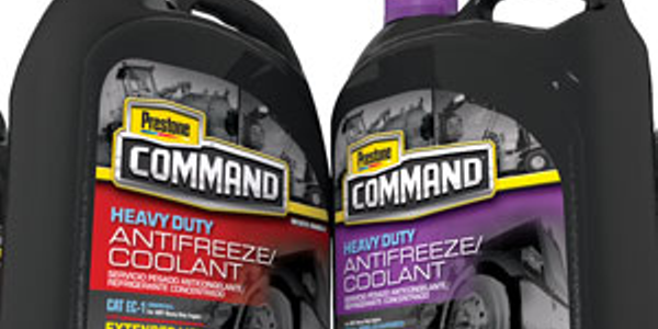 Prestone Unveils Command Family of Heavy-Duty Antifreeze/Coolants and DEF
