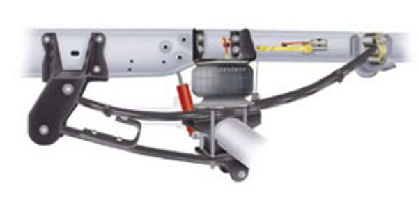 The R4Tech air suspension system is now available for 2011-2012 Ford F-450 4WD long bed trucks.
