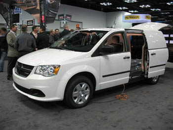 The New Ram C/V at The Work Truck Show. (Photo by Tom Berg)
