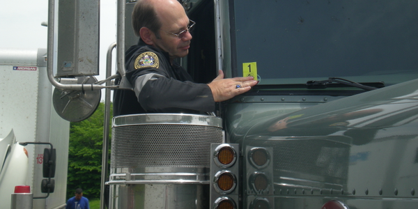 The scoring in the system is based on roadside inspections, violations listed on roadside...