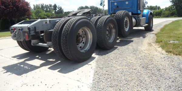 Tractors with gross-weight ratings of over 59,600 pounds, like this heavy haul model, are among...