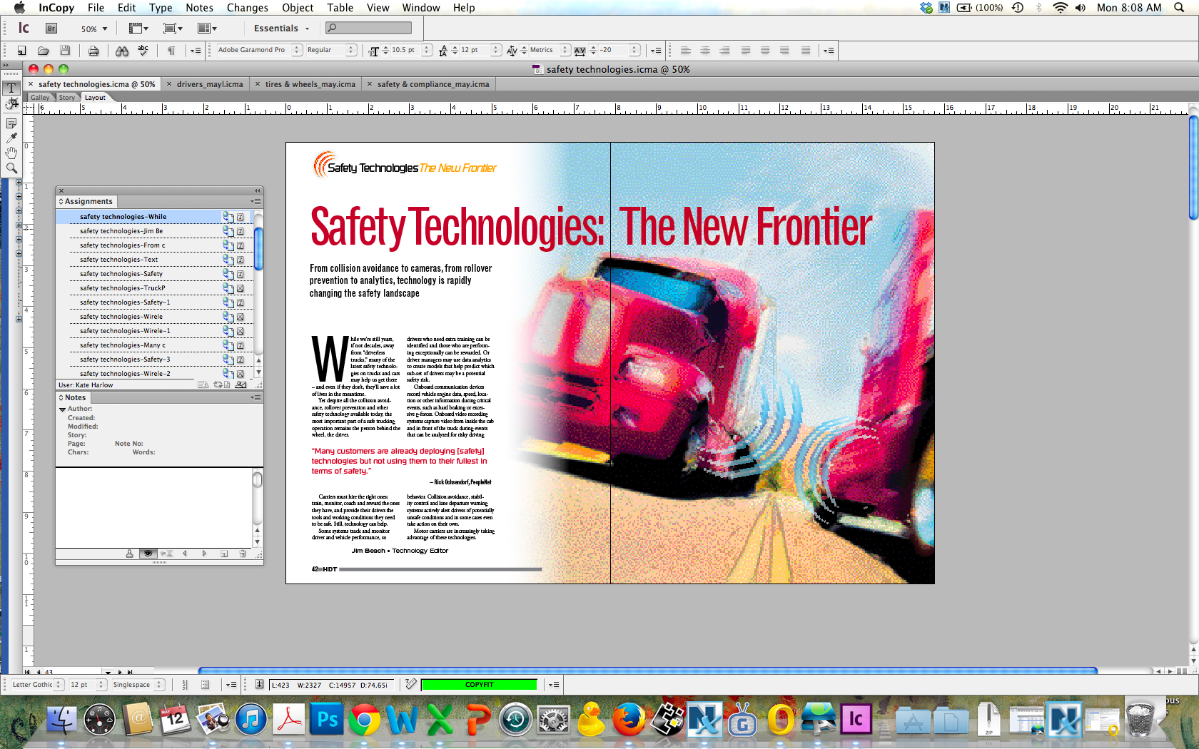 Safety Technologies: The New Frontier