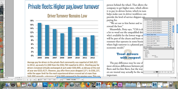 Average pay for drivers in the private fleet community was reported at $60,021 in 2012, up...