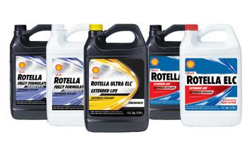 Shell Revamps Rotella Coolant Portfolio - Products