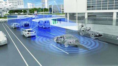 Trucks and cars alike are being designed with new sensing abilities and greater intelligence.