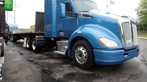 Kenworth says the tractor weighs about 15,000 pounds with 100 gallons of fuel. Among the...
