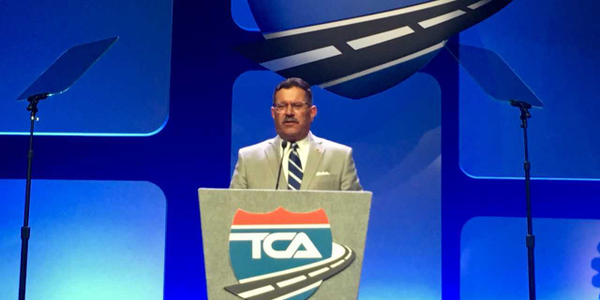 FMCSA administrator Raymond Martinez said that the agency would be open to ideas from others on...
