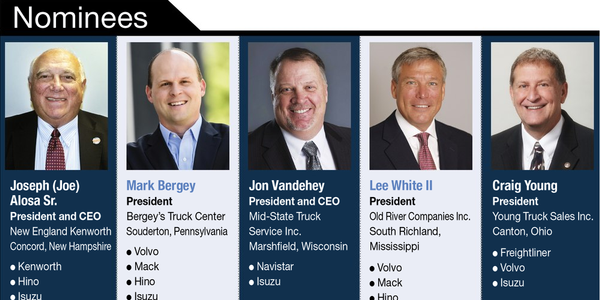 Truck Dealer of the Year Nominees