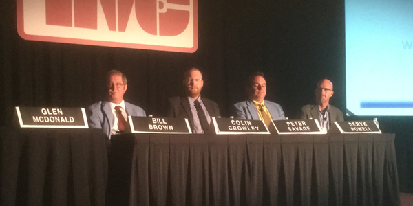 TMC panelists Bill Brown, Colin Crowley, Peter Savage and Deryk Powell outlined what they've...