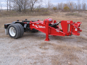 Talbert says The Equalizer provides equal weight distribution for a smoother ride.