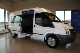 Ford Shows E-Series Replacement, the Transit Van; Talks Up Gasoline Power for F-650