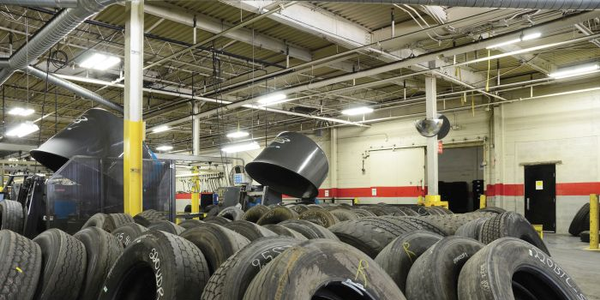 By the time a tire gets to the retreader, its unit number and wheel position information may be...