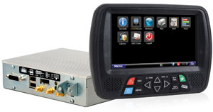 The new box, measuring one-third the size of the prior generation, features the same computing power and Windows 7 operating system.