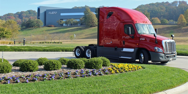 """Out of 7,000 U.S. Xpress tractors running on the road today, only 16 """"legacy"""" units are still..."""