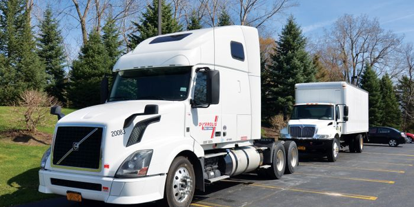 Our test truck was a rented 2013 Volvo VNL. Vnomic's development test truck is in the...