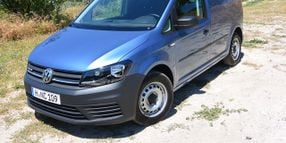 VW Updates Transporter and Caddy Vans