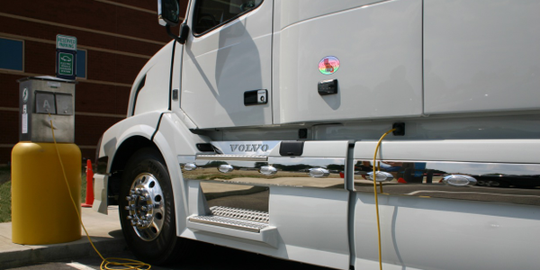 Volvo was the first truck maker to offer built-in shore power systems. Shore power can be used...