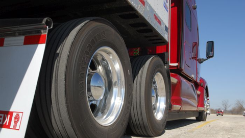 The greater axle track width used with dual wheels would make that same axle too wide when...