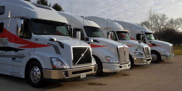 We drove all the trucks except the Volvo. The ProStar had the Fuel Efficient version of the new...