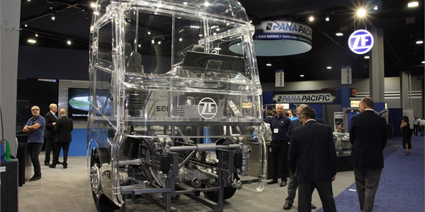 ZF is leveraging technologies from around the world to make commercial vehicles safer, Mitja...