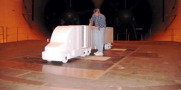 One of the new testing methods allowed for EPA SmartWay verification is wind tunnel testing....