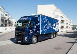 Ten Volvo Bio-DME (Di-Methyl-Ether) trucks have now been in regular operation since last autumn.